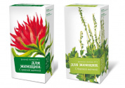 "Altai Herbal Tea No.1 &  No.2 "" For Women"""